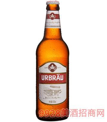优布劳古法原浆 500ml啤酒