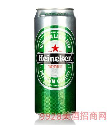 荷蘭產罐喜力啤酒500ml