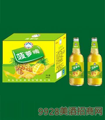 百佳德菠萝啤500ml啤酒