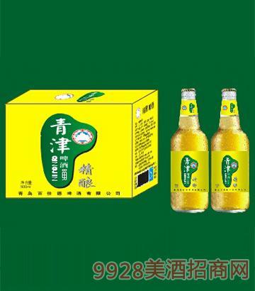 青津精酿啤酒500ml