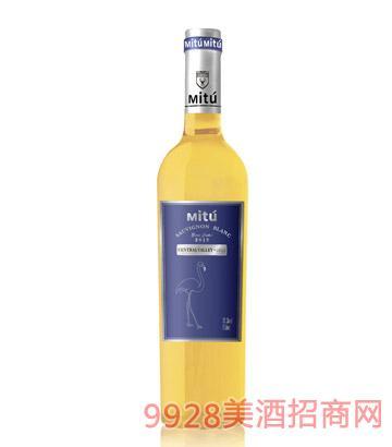 米图堡小红鹳白葡萄酒
