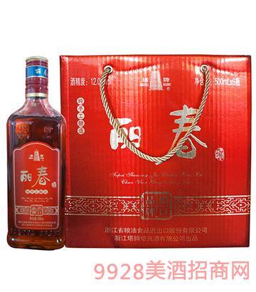 塔牌丽春酒(高盖)500mlx6