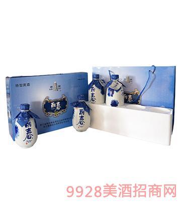 丽春礼盒酒375mLx4x4