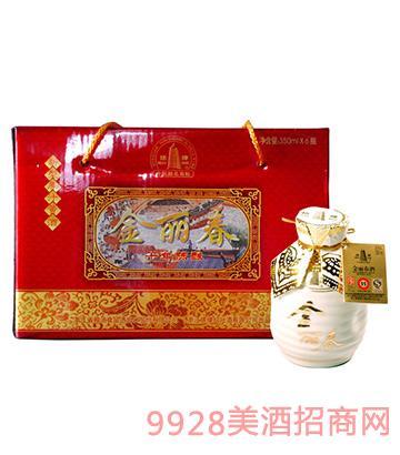 金丽春酒350mLx6