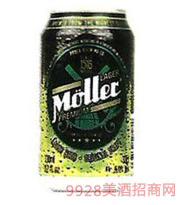 穆乐啤酒罐装330ml
