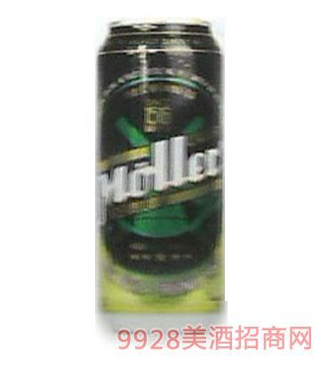 穆乐啤酒罐装500ml
