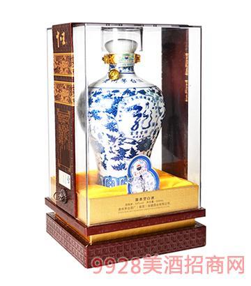 青花瓷茅台集团酒1斤精装版53度