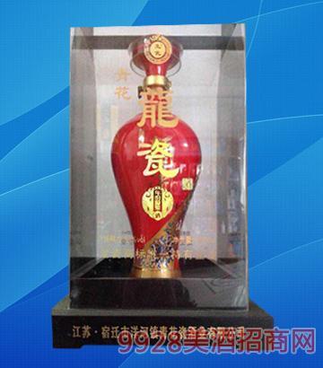 青花龙瓷酒63度500ml