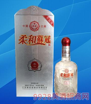 柔和苏冠酒柔六42度500ml