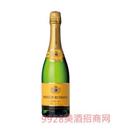 法国之光·里查曼王子起泡葡萄酒(半干高泡)12%vol750ml