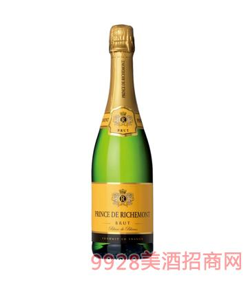 法国之光·里查曼王子起泡葡萄酒(天然高泡)12%vol750ml
