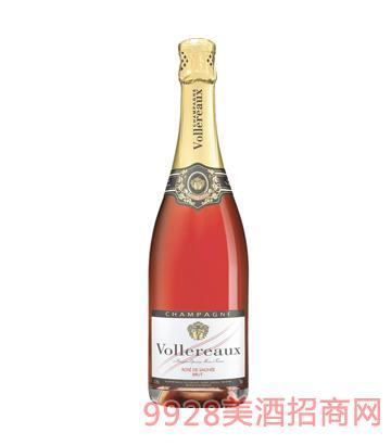 法国之光·维乐玫瑰香槟酒12%vol750ml