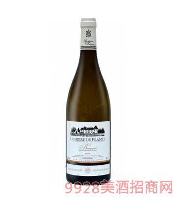 法国之光·勃艮第干白葡萄酒12%vol750ml