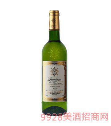 法国之光·金标干白葡萄酒12%vol750ml