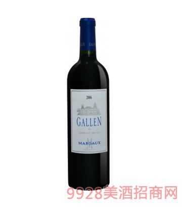 法国之光·玛歌圣加仑干红葡萄酒12%vol750ml