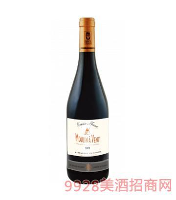 法国之光·风车干红葡萄酒12%vol750ml