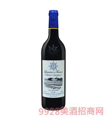 法国之光・赤霞珠干红葡萄酒12%vol750ml