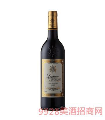 法国之光・金标干红葡萄酒12%vol750ml