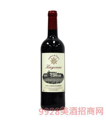 法国之光凯宴红葡萄酒12%vol750ml