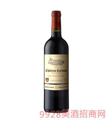 卡特庄园干红葡萄酒12%vol750ml