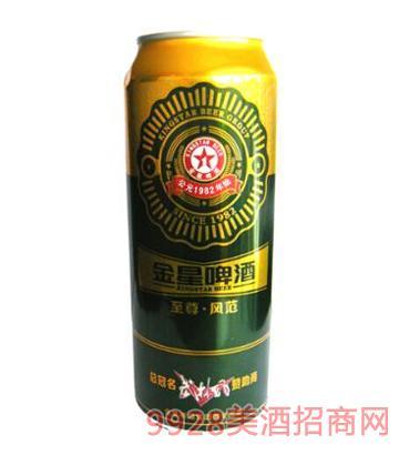 金星啤酒·风范490ml