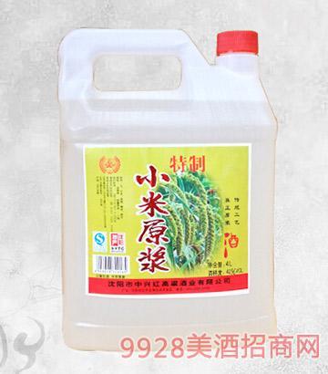 特制小米原浆酒