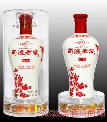 蜀泸老窖-红玉酒