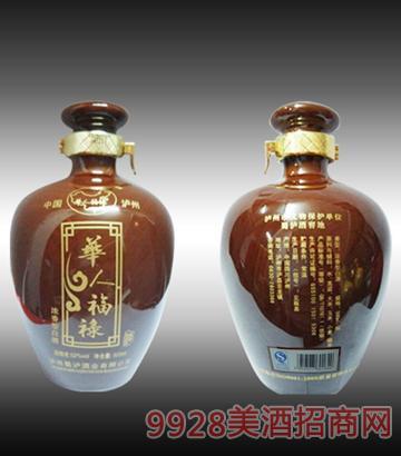 蜀泸酒华人福禄-陶坛