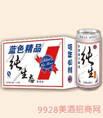 藍滸純生態啤酒500ml×24罐