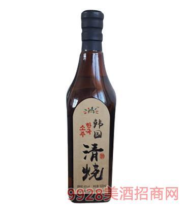 韩国清烧酒