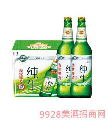 白纯生啤酒