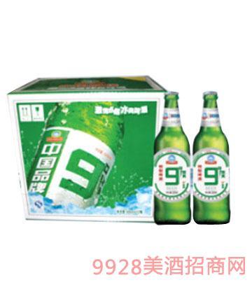 崂金泉啤酒9度