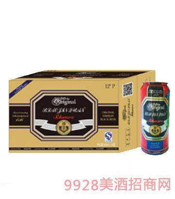 崂金泉啤酒12度