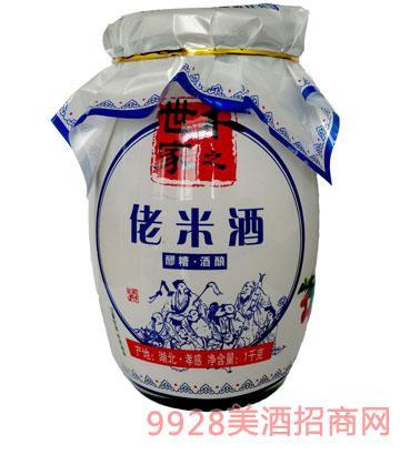 米之世家佬米酒1000g