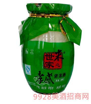 米之世家佬米酒500g