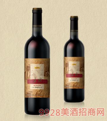 珍藏版百年长城干红葡萄酒