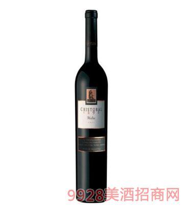 唐克里斯托瓦莊園馬爾貝克紅葡萄酒-2012