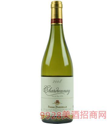 伯奈尔法国产区霞多丽白葡萄酒