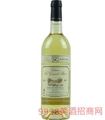 勃喜庄园半甜型白葡萄酒