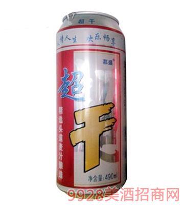 超干易拉罐啤酒