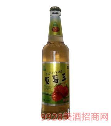 草莓王果啤啤酒