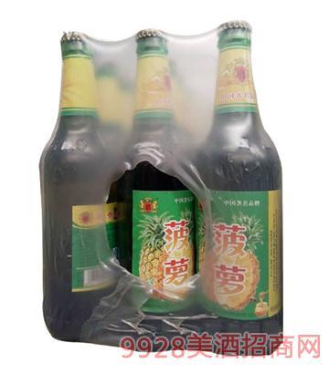 菠萝果啤塑包啤酒