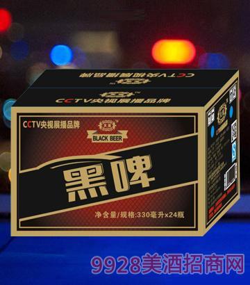 ��潮黑啤330mlx24(箱)啤酒