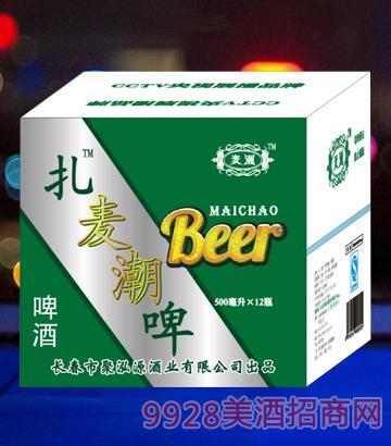 麦潮啤酒500mlx12箱啤酒