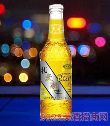 ��潮啤酒500ml白瓶啤酒