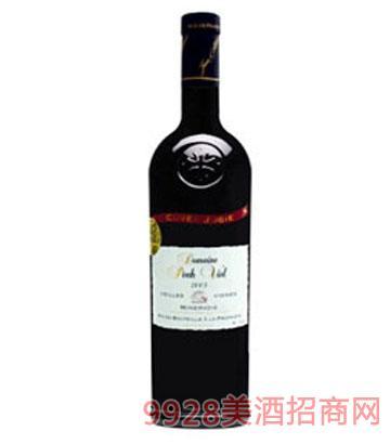 贝喜红葡萄酒