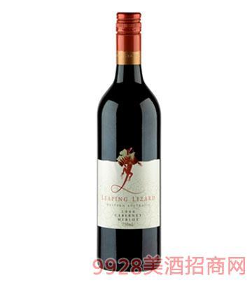 澳洲龙赤霞珠美乐葡萄酒