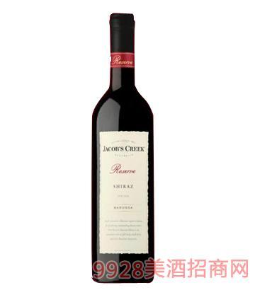 杰卡斯西拉珍藏巴罗萨干红葡萄酒