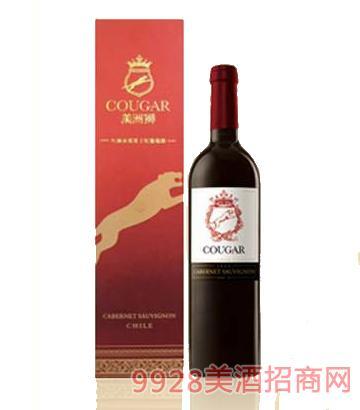 美洲狮 红狮赤霞珠干红葡萄酒