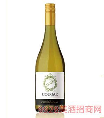 美洲狮 绿狮莎当妮干白葡萄酒
